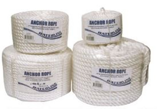 Waterline Silver Anchor Rope 50m