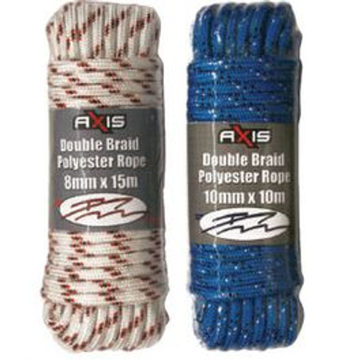 Axis Double Braid Polyester Rope 10mm x 10m