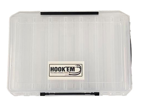 Hook'em Double Sided Squid Jig Box
