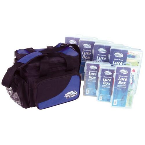 Jarvis Walker Regular Tackle Bag w/7 Boxes