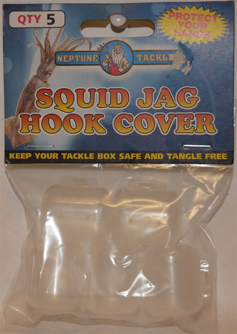 Neptune Tackle Squid Jag Hook Cover 5 Pack