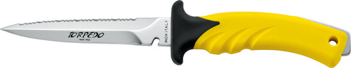 Mac Coltellerie Torpedo 11 Silver / Yellow Knife
