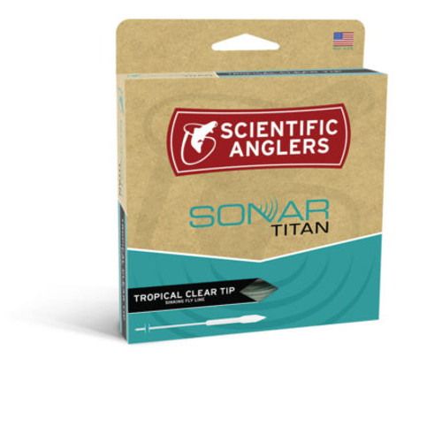 Scientific Anglers Sonar Titan Tropical Clear Tip Sinking Fly Line