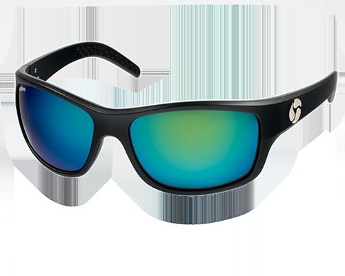 Spotters Fusion Matte Black Crown Glass Lens Sunglasses