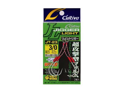 Owner Cultiva Jigger Light JT-23 Light Jigging Hooks
