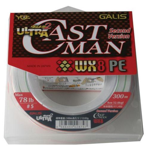 YGK Ultra Castman 2 WX8 300m
