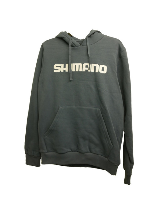 Shimano Corporate Hoodie Steel Blue/White 2019