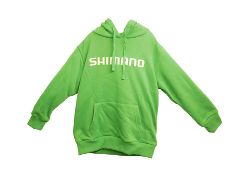 Shimano Corporate Hoodie Green Kids 2019