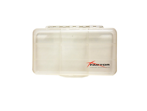 X Factor Clear 9 Compartment Fly Box