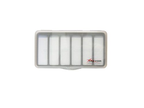 X Factor Thin 6 Compartment Fly Box