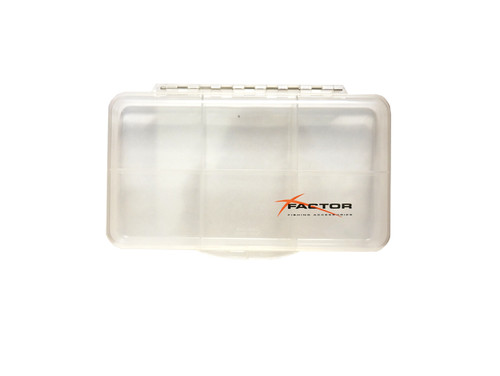 Factor Clear 6 Compartment Fly Box