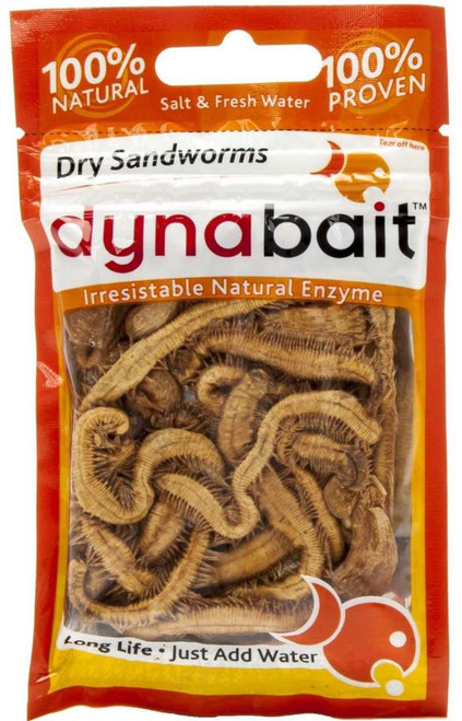 Dynabait Freeze-Dried Sandworms