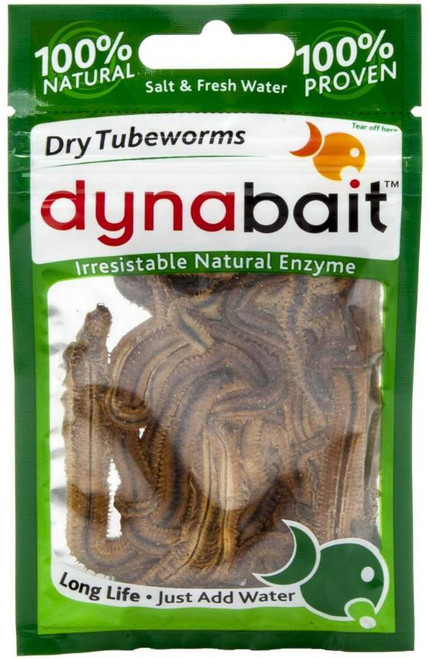Dynabait Freeze-Dried Tubeworms