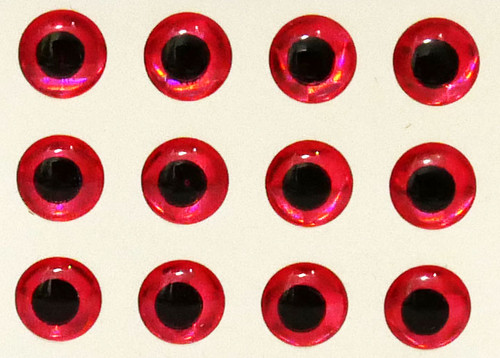 """Wapsi Hologram Eyes - Red 5/16"""""""