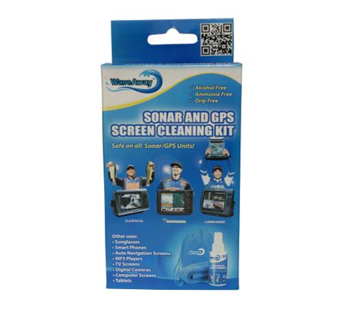 WaveAway Sonar & GPS Screen Cleaning Kit