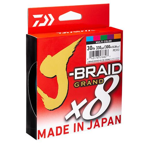 Daiwa J Braid Grand Multi Colour 500m
