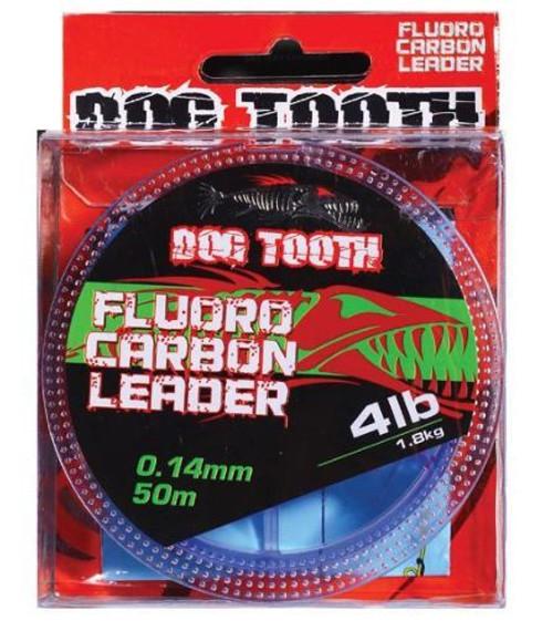 Dog Tooth Fluorocarbon Leader