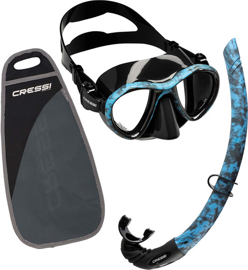 Cressi Metis Corsica Mask Snorkel Set