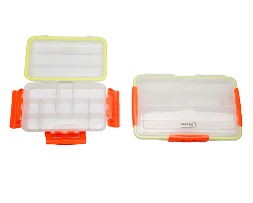 Hook'em Large Waterproof Tackle Box