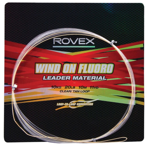 Rovex Wind On Fluoro Leader Material