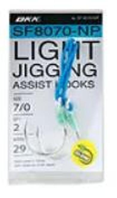 BKK Light Jigging Assist Hooks SF8070-NP