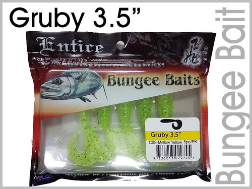 "Entice Bungee Baits 3.5"" Gruby"