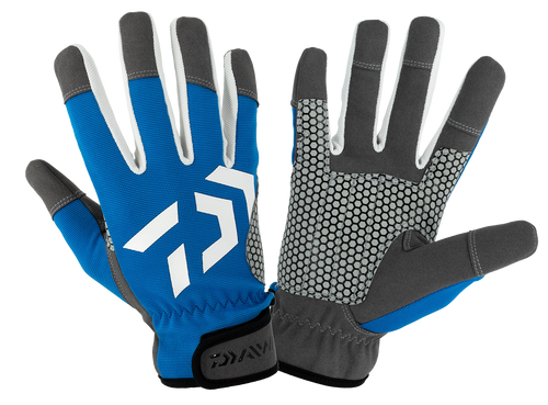 Daiwa Offshore Glove - Blue