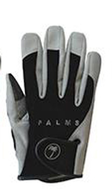 Palms Salt Game Gloves Black - L