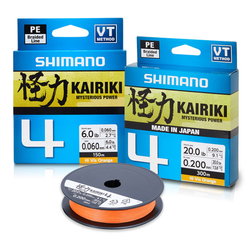 Shimano Kairiki 4 PE Braid 150m