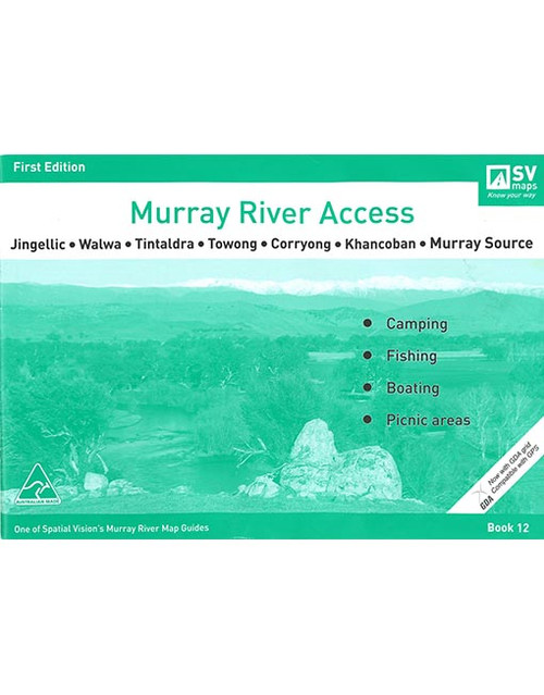 Murray River Access Map 12 Jingellic To Murray Source
