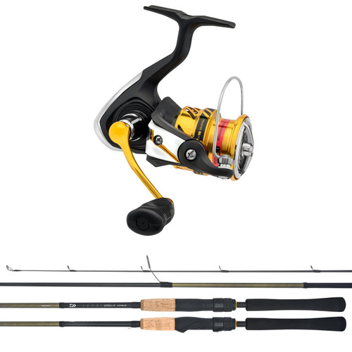 Daiwa Legalis / Crossfire LT Spinning Combo