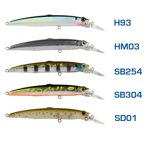 Bassday Sugar Minnow Slim 70SP Suspending