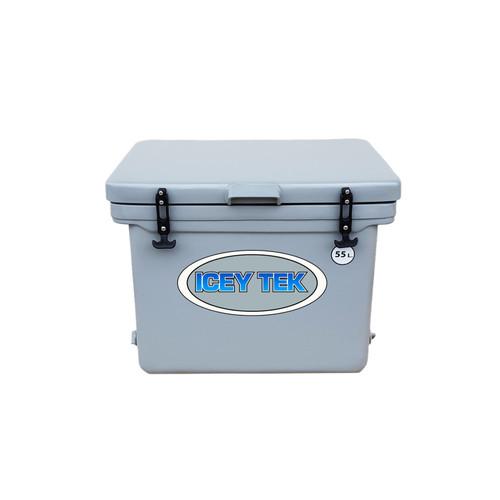 Icey Tek 55L Ice Box Cooler Grey