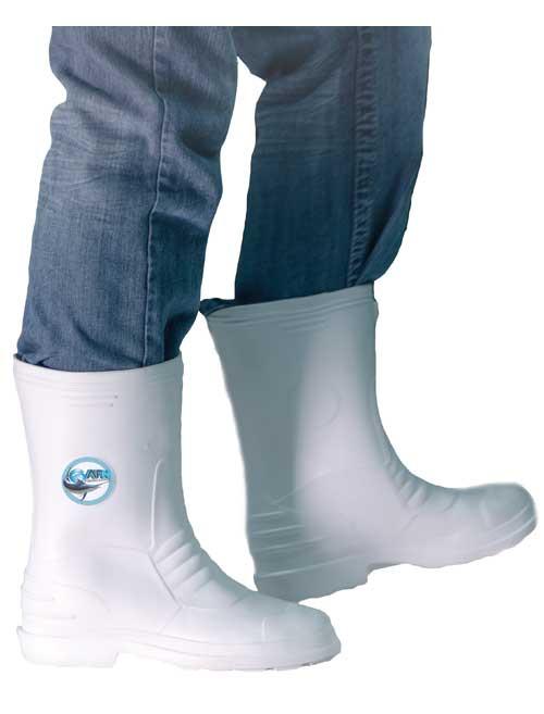 AFN Deck Boots - White