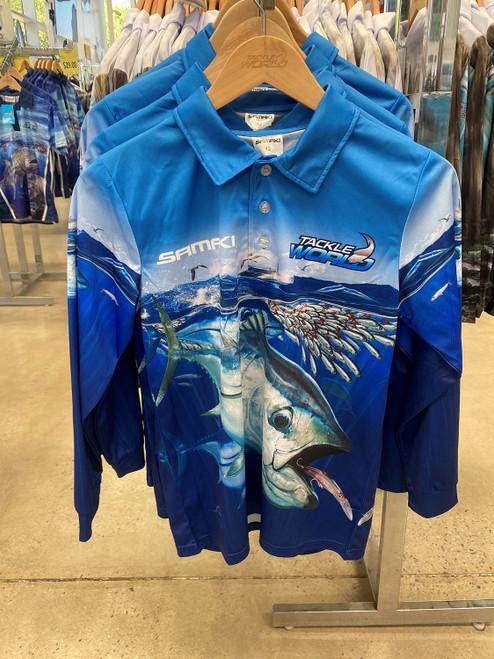 Tackle World Samaki Bluefin Tuna Shirt Kids