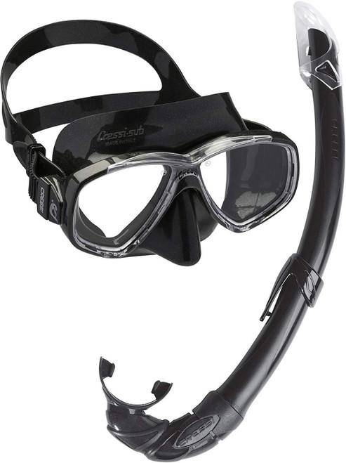 Cressi Perla Mare Mask Snorkel Set Adult
