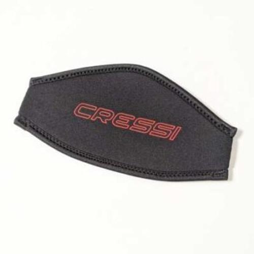 Cressi Neoprene Mask Strap Cover Black