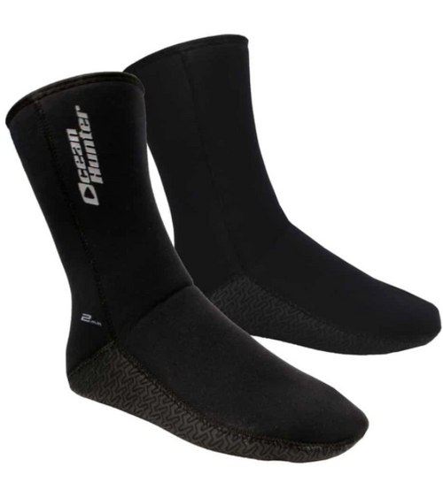 Ocean Hunter 3mm Plush Sock
