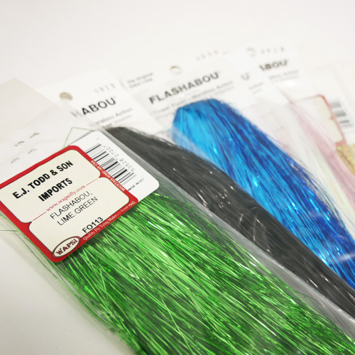EJ Todd Flashabou Fly Tying Material