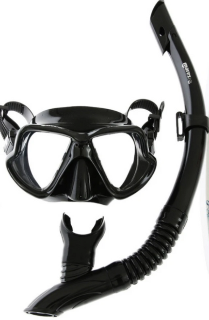 Mares Wahoo Mask & Snorkel Set Black