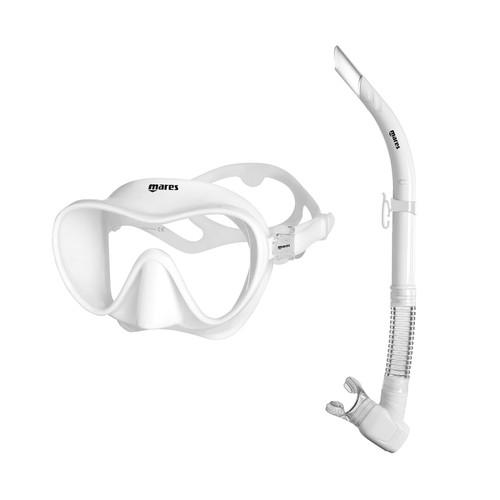 Mares Tropical Mask & Snorkel Set White