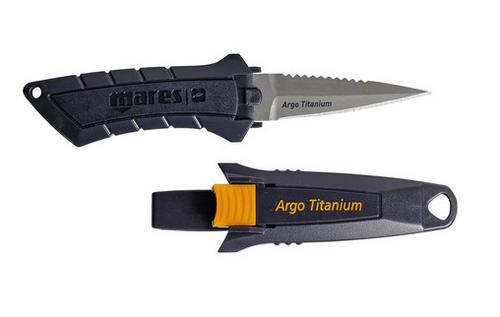 Mares Argo Titanium Dive Knife