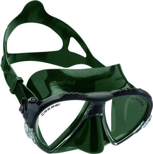 Cressi Matrix Dive Mask Green/Green Frame
