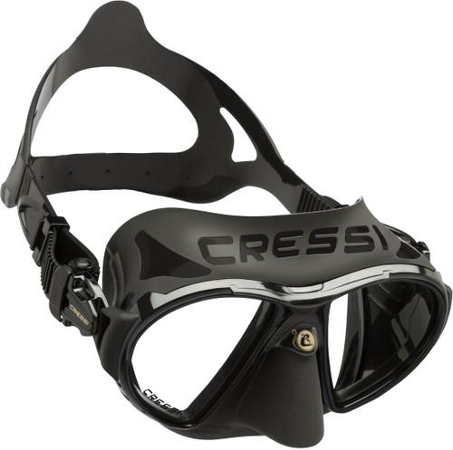 Cressi Zeus Dive Mask Black/Black Frame