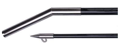 Hook'em Black Shot Gun 3m 2 Piece With Centre Rigger Kit