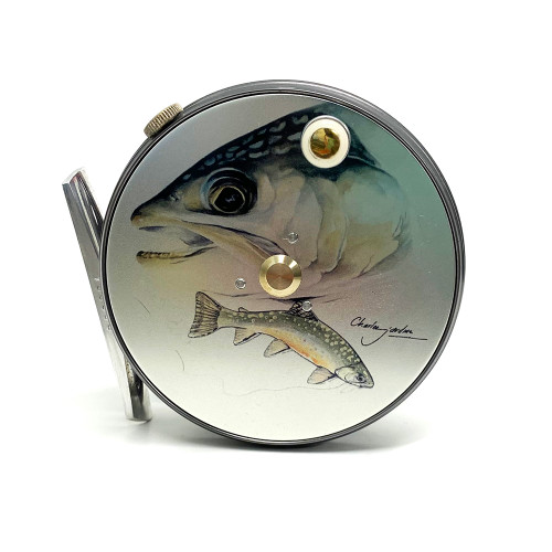 Hardy Perfect 3 1/8 Limited Edition Charles Jardine Brook Trout Fly Reel