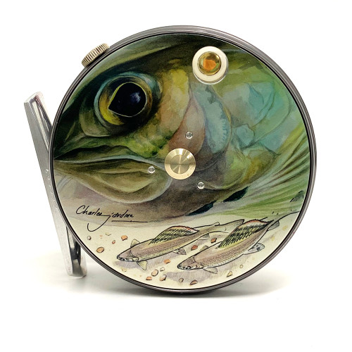 Hardy Perfect 3 1/8 Limited Edition Charles Jardine Grayling Fly Reel