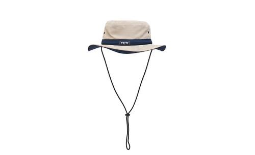 Yeti Boonie Bucket Hat - Tan/Navy