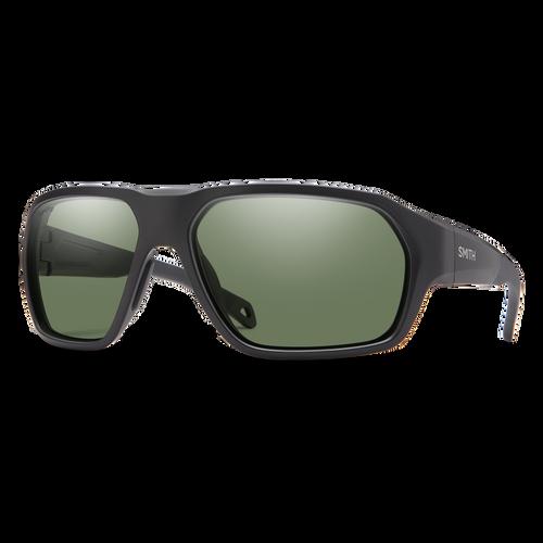 Smith Optics Deckboss Matte Black/Gray Green Polarised Sunglasses