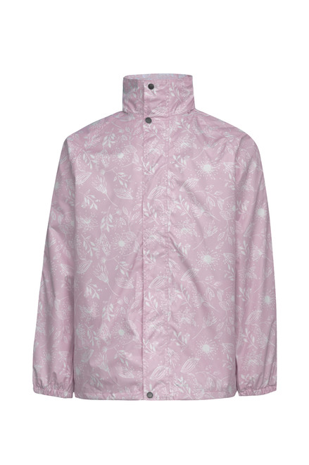 Rainbird STOWaway Jacket - Rose Blush Natives